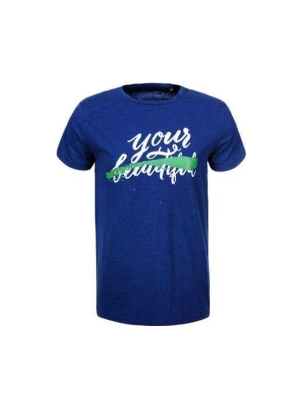 Футболка синя   5075377