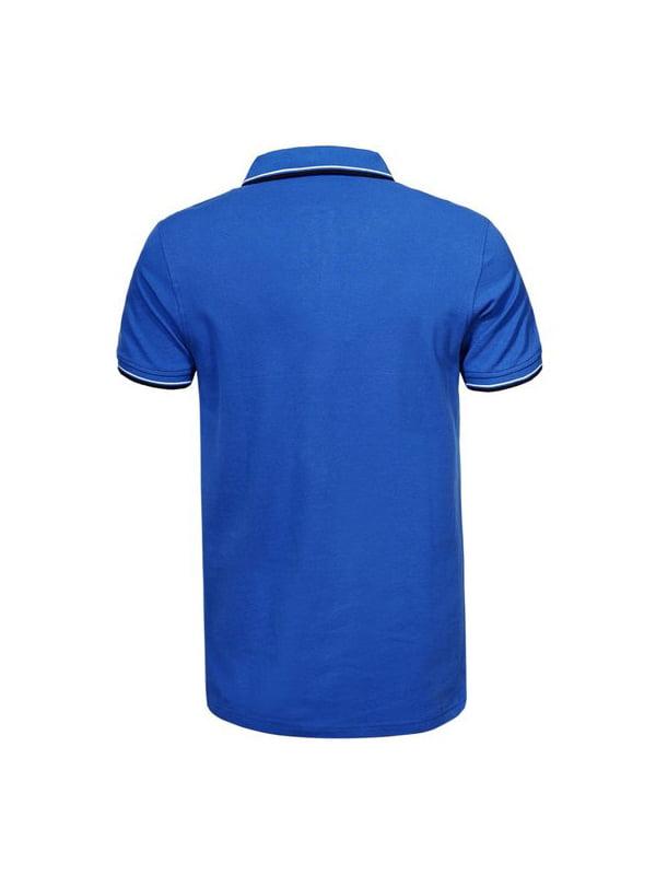 Футболка-поло синя | 5075520 | фото 2