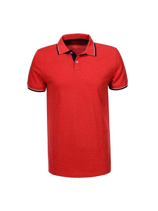 Футболка-поло червона | 5075751