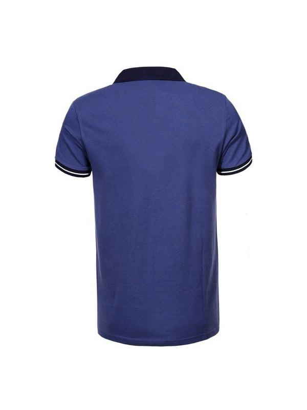 Футболка-поло синя   5075756   фото 2