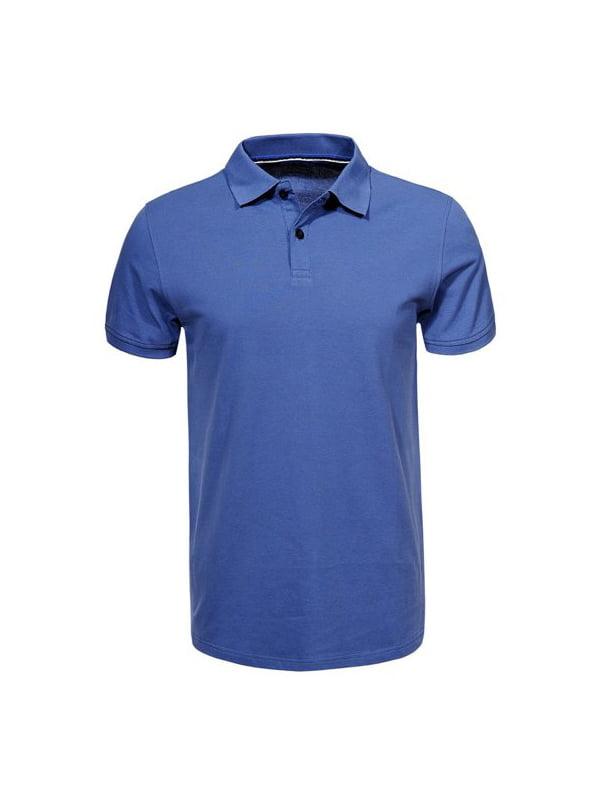 Футболка-поло синя | 5075870
