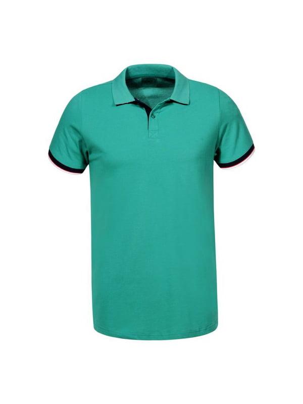 Футболка-поло зелена   5076010