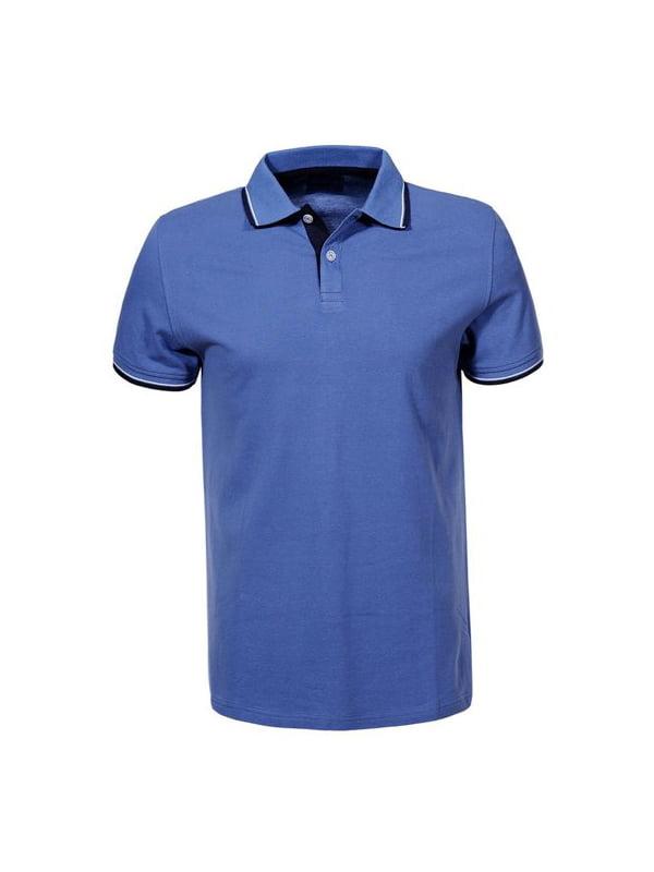 Футболка-поло синя   5076037