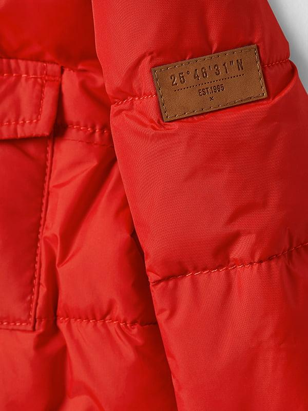 Куртка красная | 5045929 | фото 7