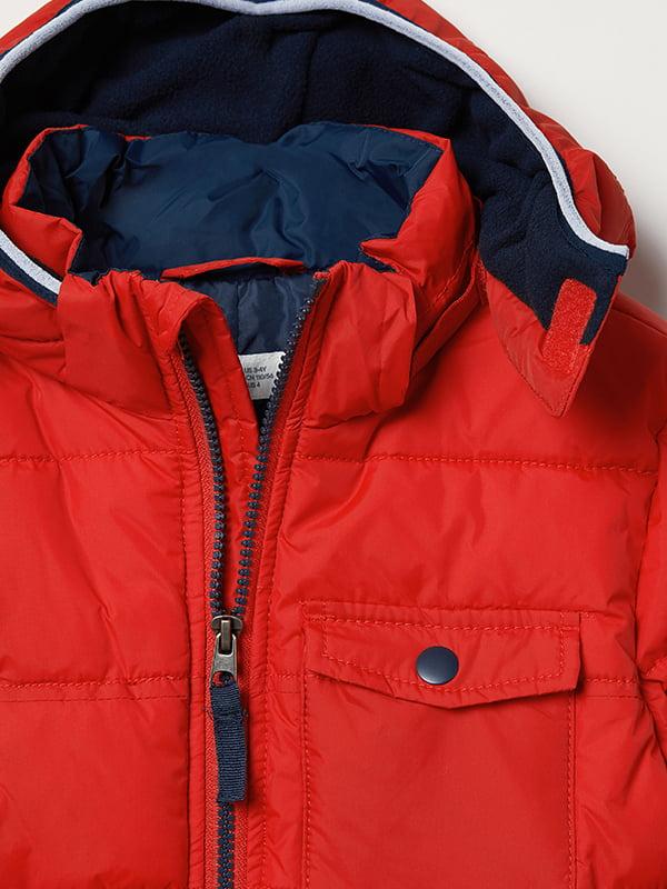 Куртка красная | 5045929 | фото 8