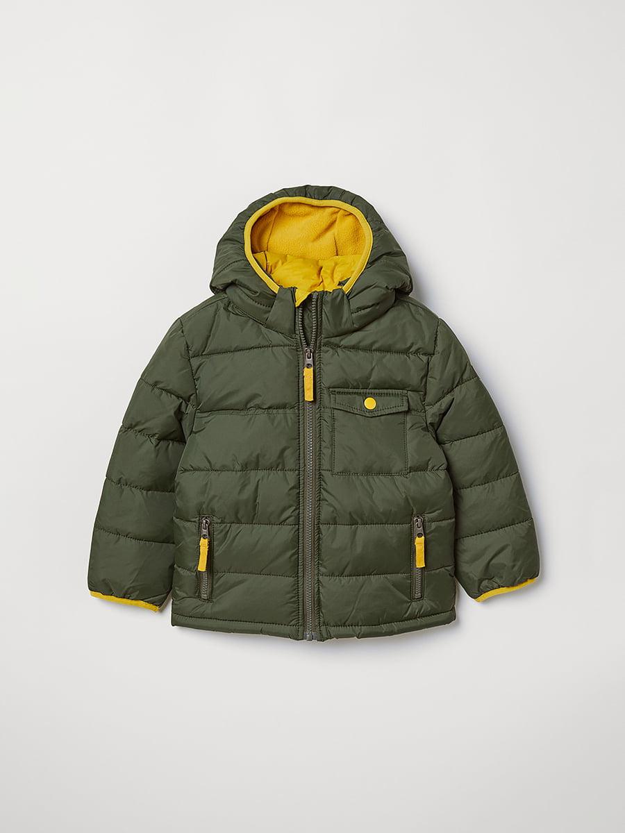 Куртка зелена | 5045930