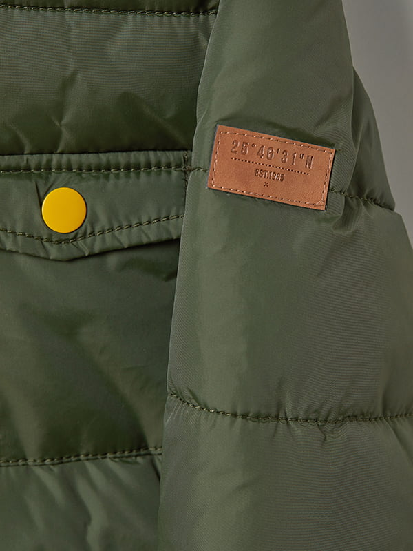 Куртка зелена | 5045930 | фото 2