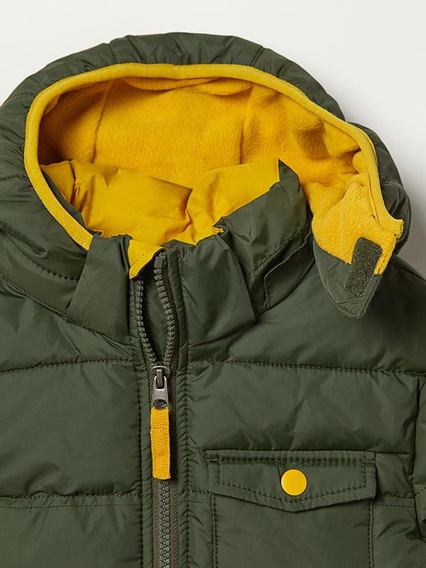 Куртка зелена | 5045930 | фото 3