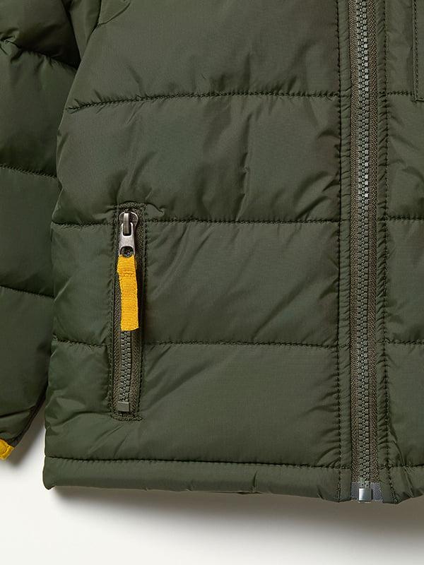 Куртка зелена | 5045930 | фото 4
