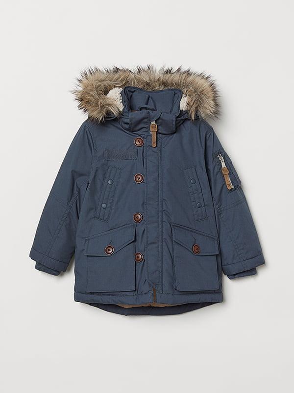 Куртка синя | 5046437 | фото 4