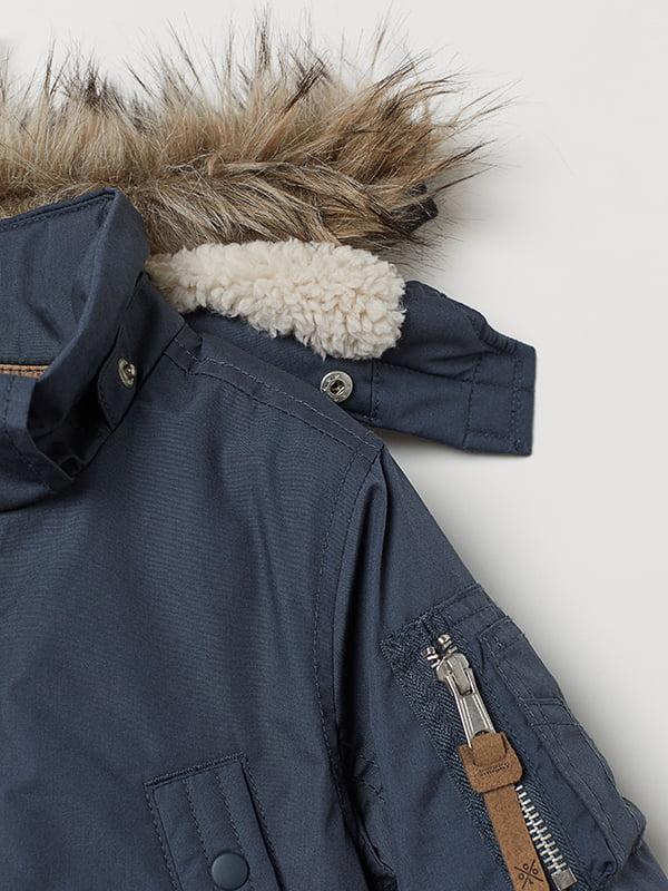 Куртка синя | 5046437 | фото 5