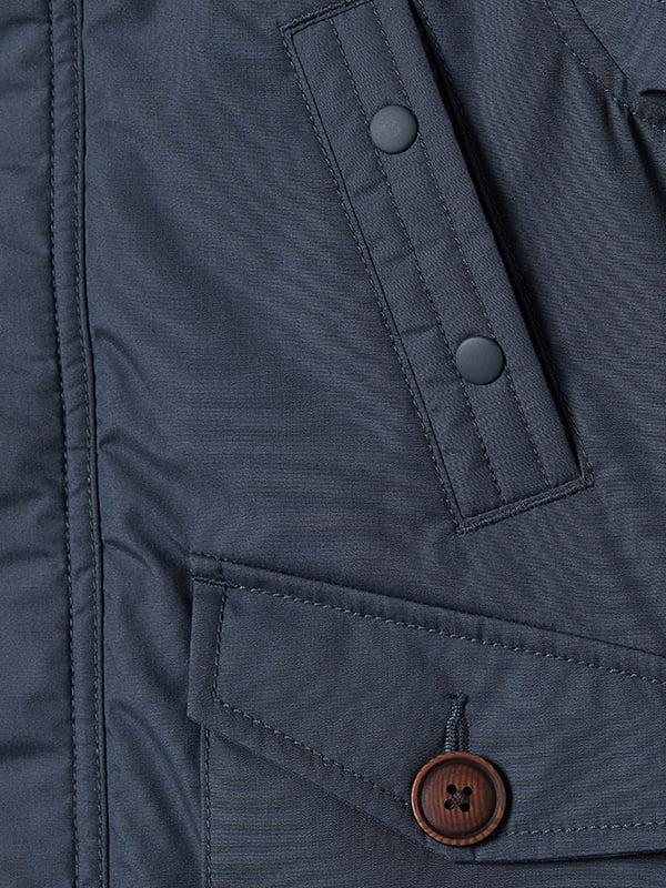 Куртка синя | 5046437 | фото 6