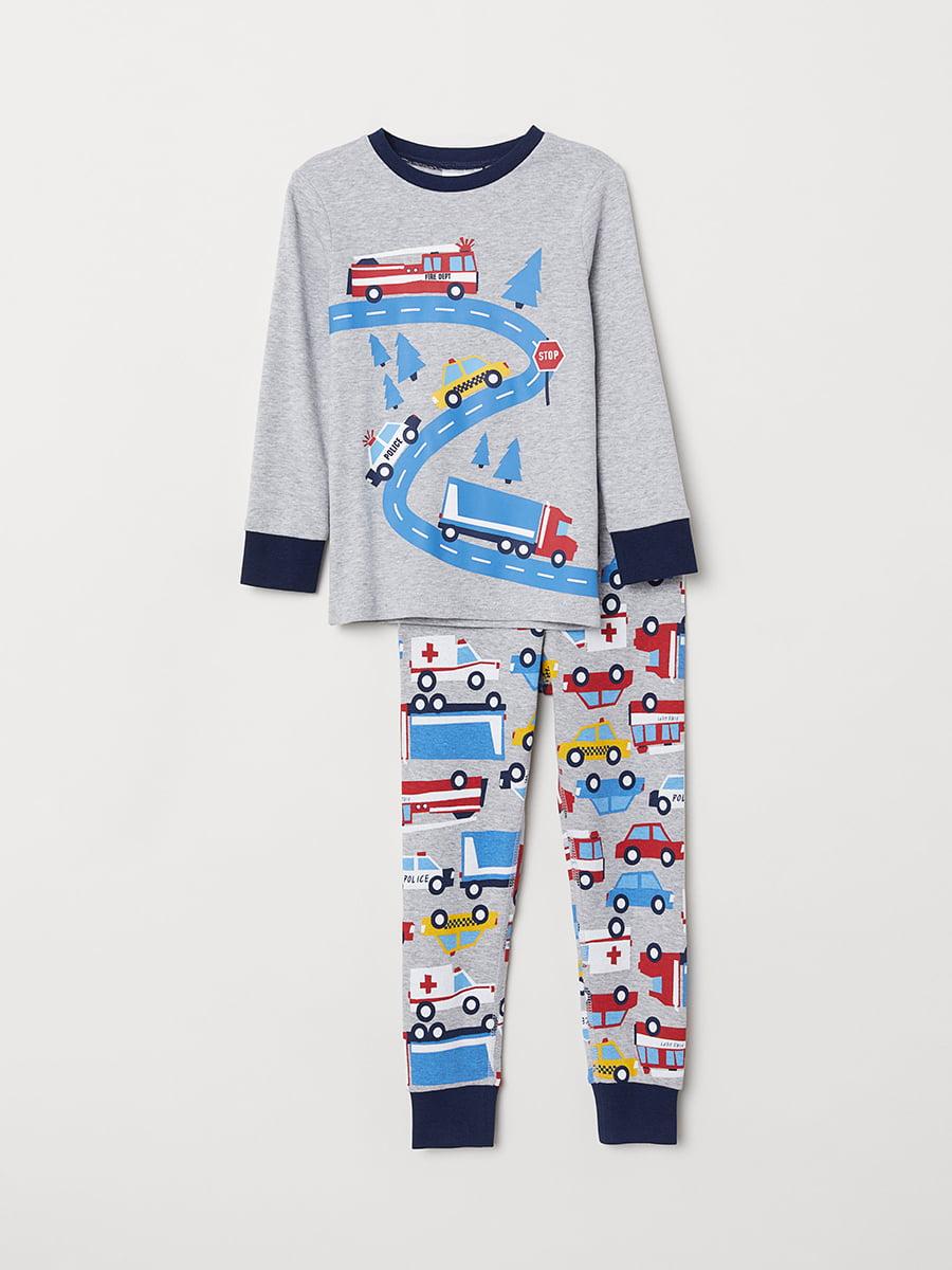 Пижама: джемпер и брюки | 5072943