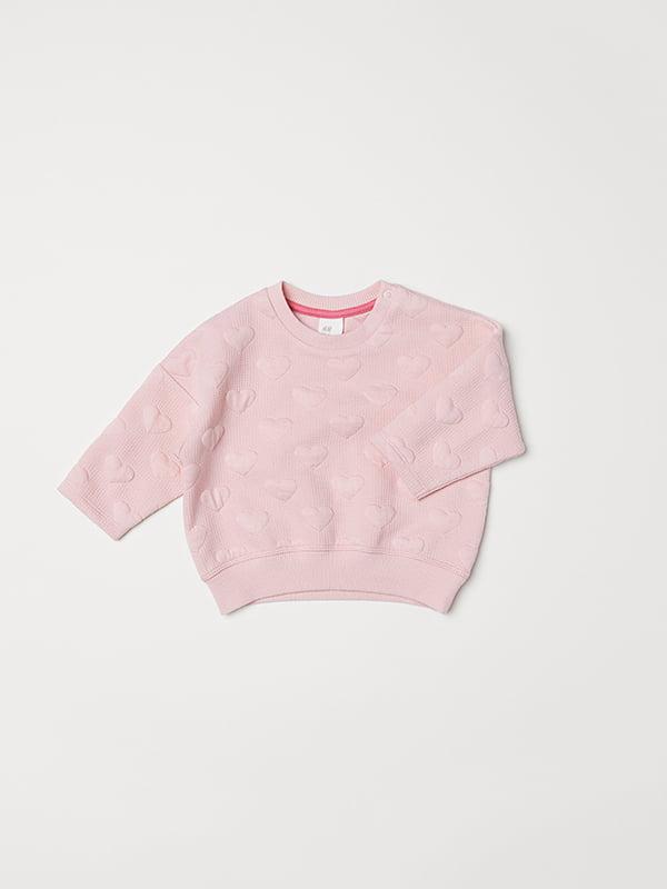 Свитшот розовый | 5073365