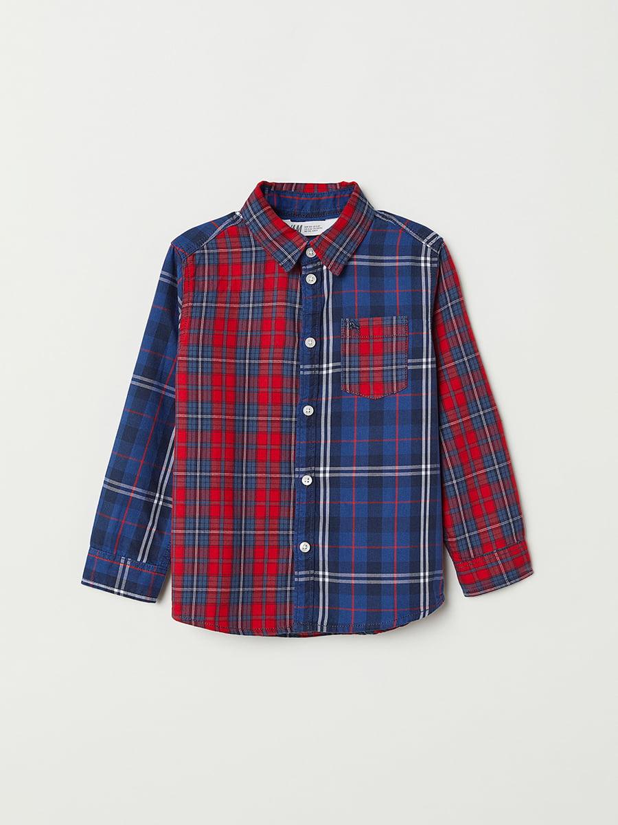 Рубашка в клетку   5073375