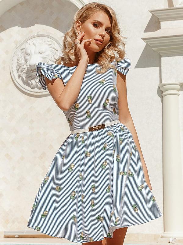 Платье в полоску | 5080787
