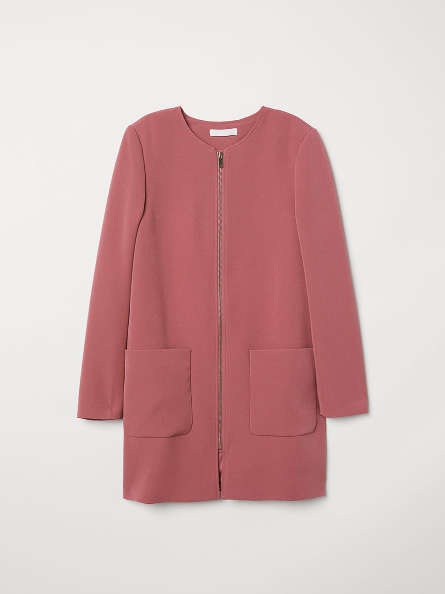 Пальто розовое | 5046927 | фото 2