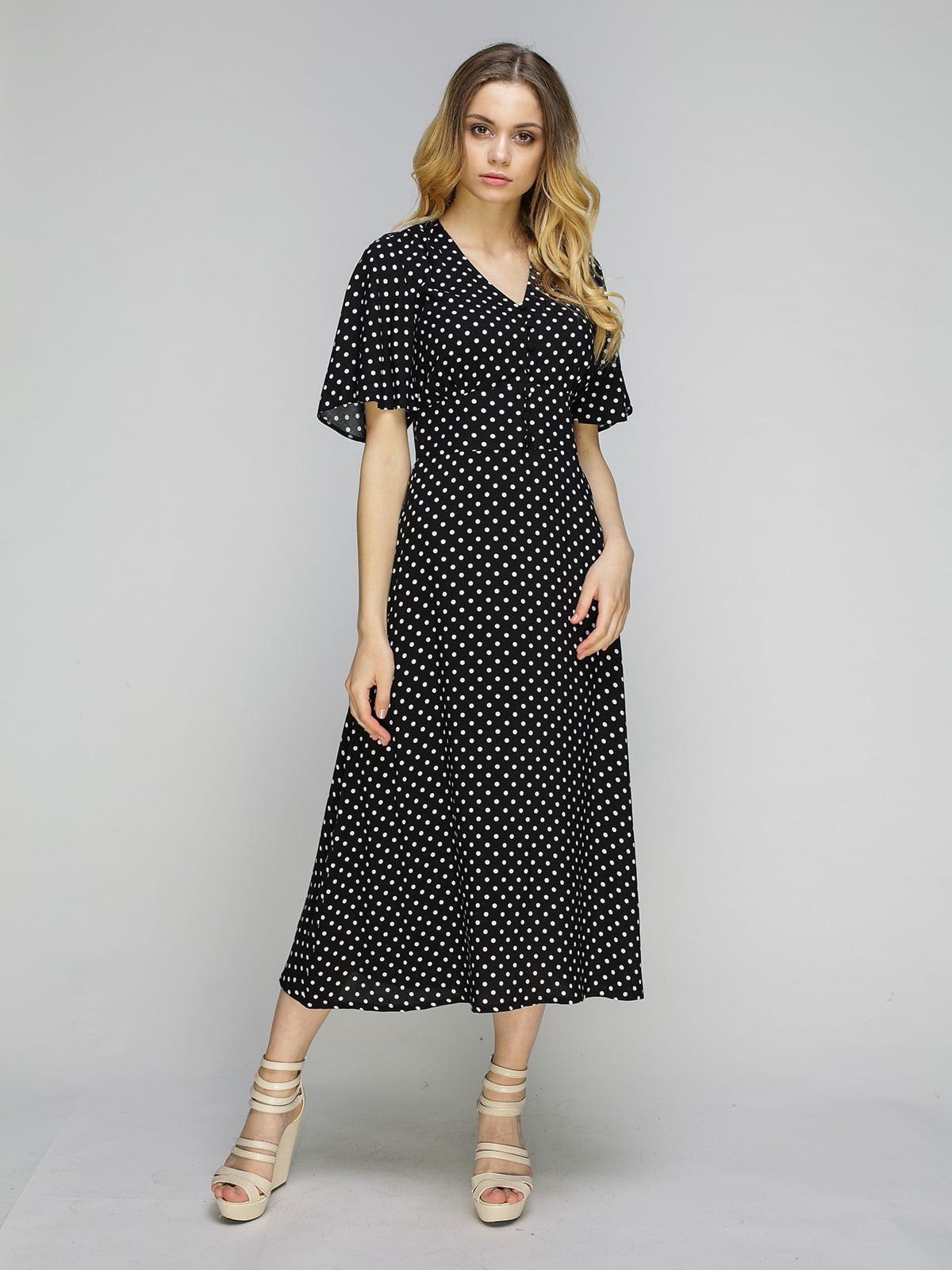 Сукня чорна в горошок   5080255