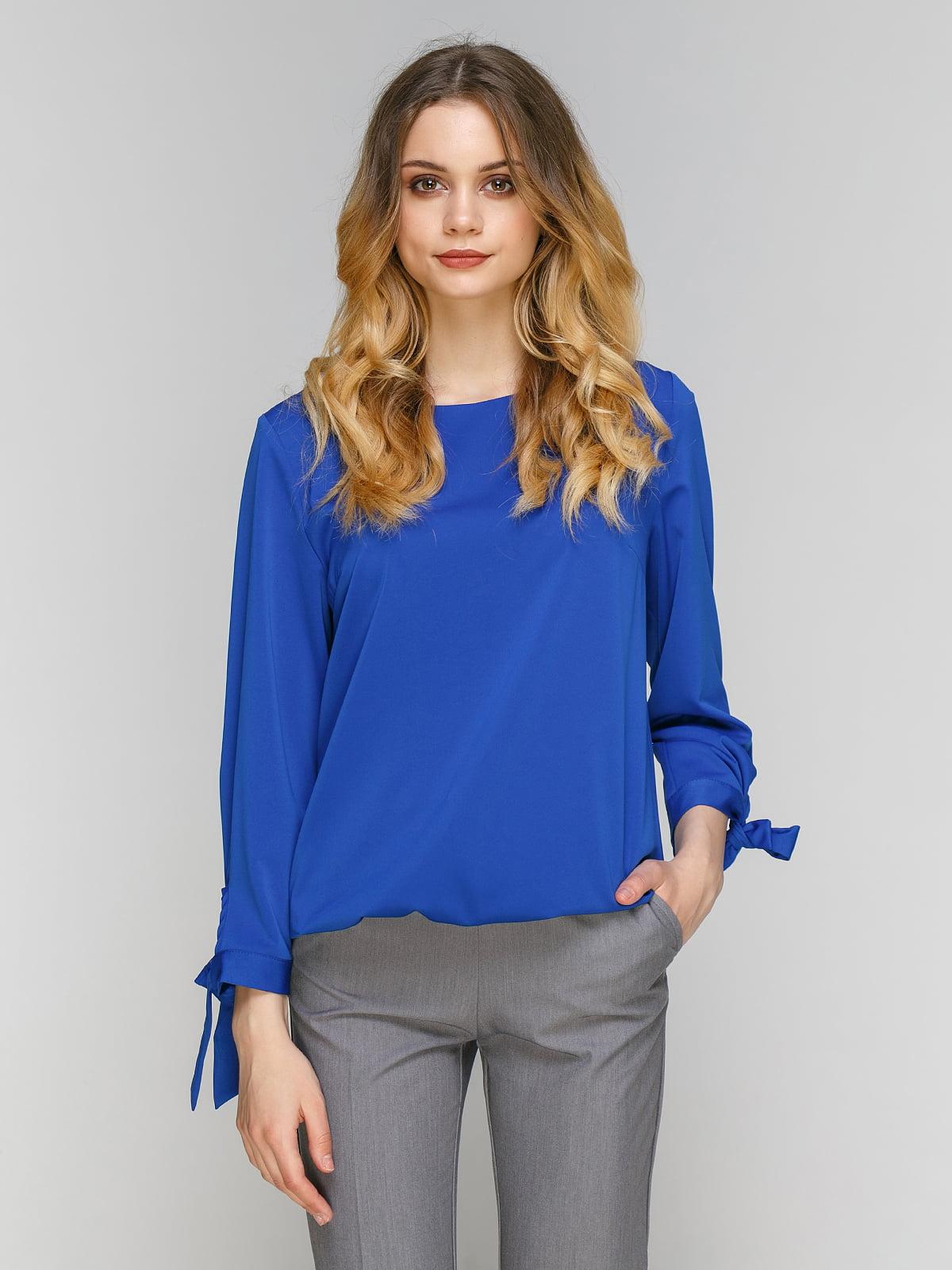 Блуза цвета электрик | 5077705