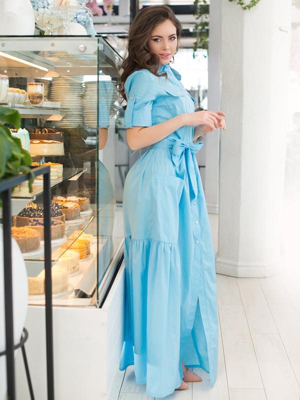 Сукня блакитна | 5081849
