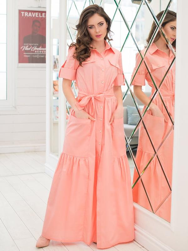 Сукня кольору пудри   5081850