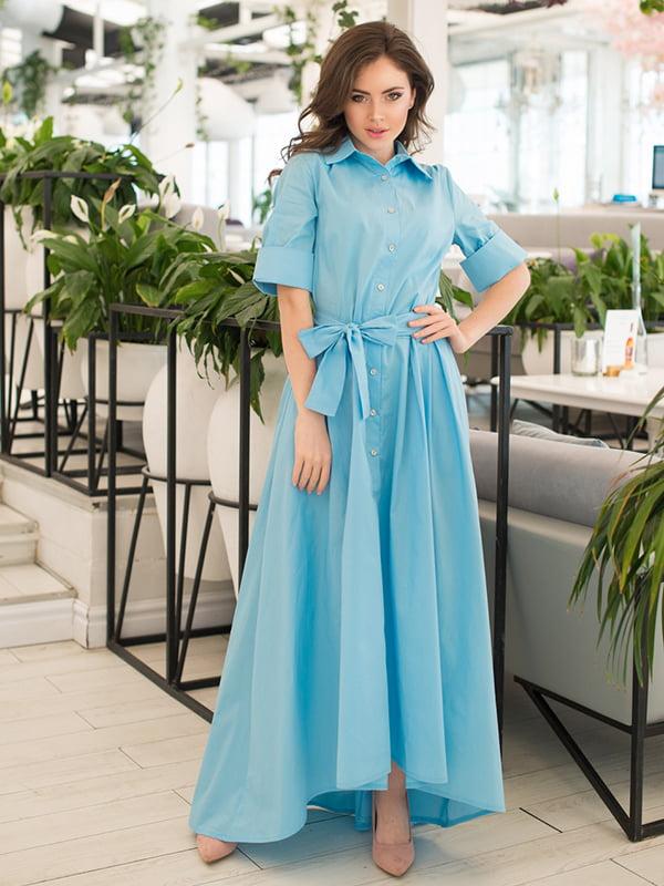 Сукня блакитна | 5081863