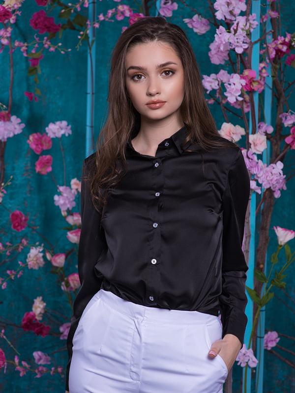 Рубашка черная | 5081875