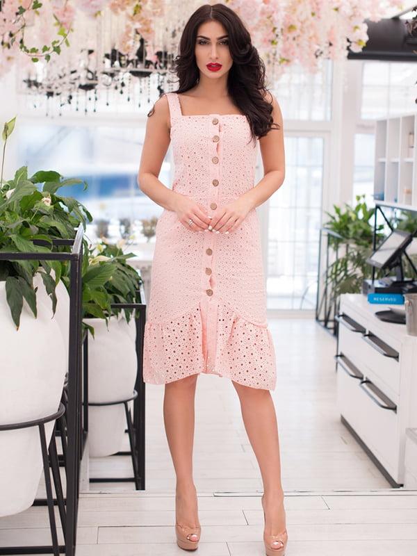 Сукня кольору пудри | 5081891