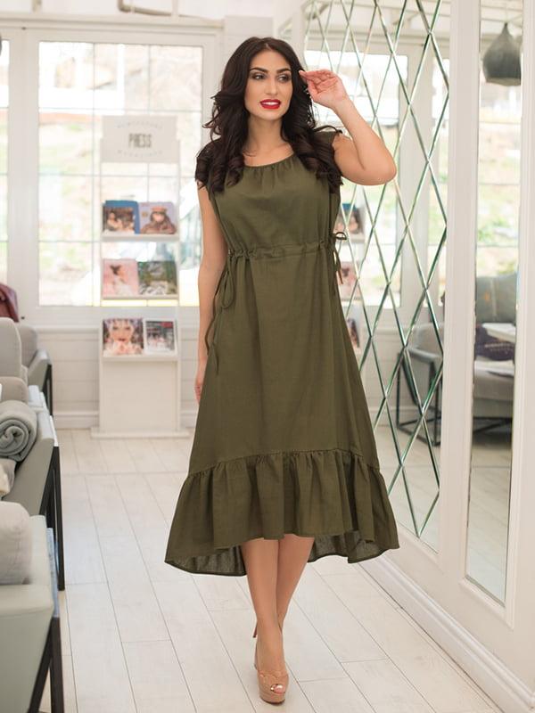 Сукня кольору хакі | 5081897