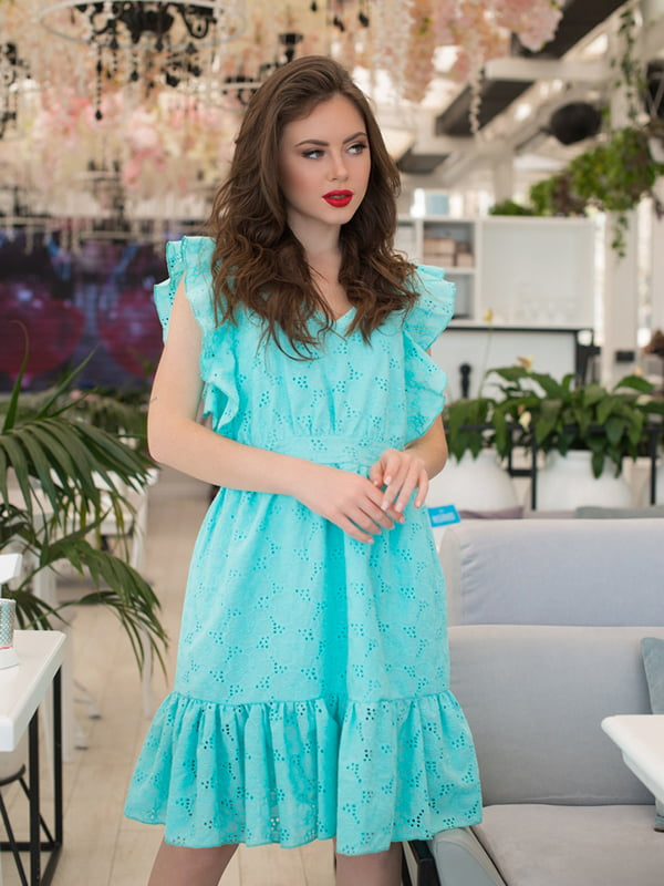 Сукня м'ятного кольору   5081900