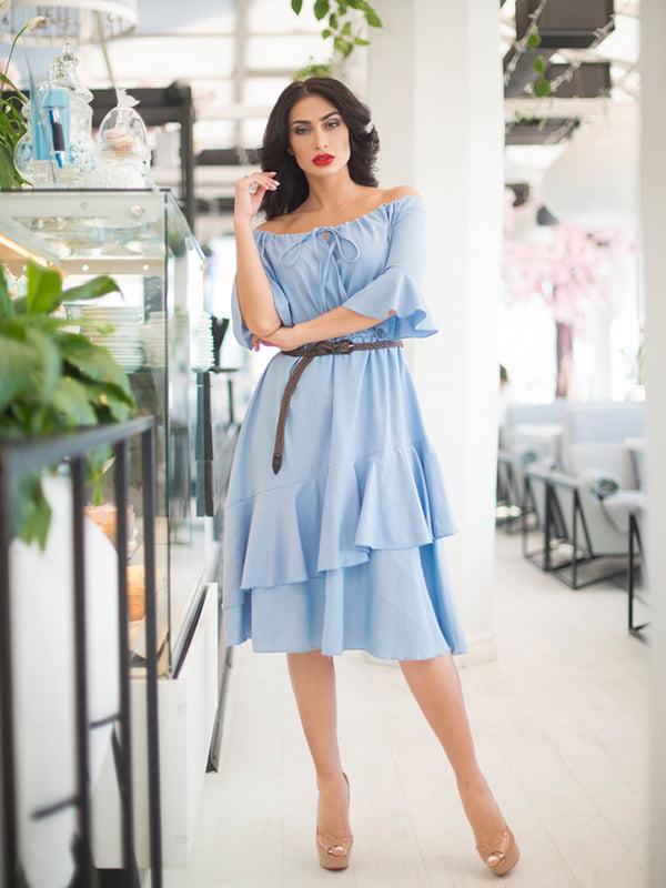 Платье голубое | 5081911