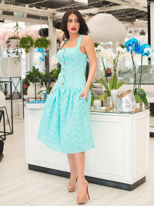 Сукня м'ятного кольору | 5081914