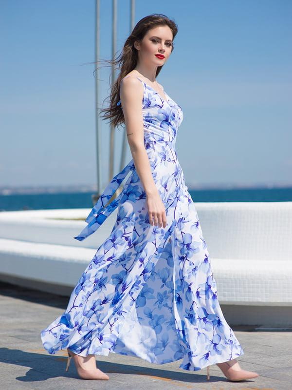 Платье синее | 5081919