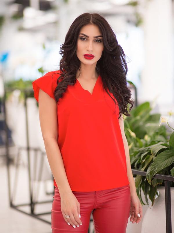 Блуза червона | 5081930