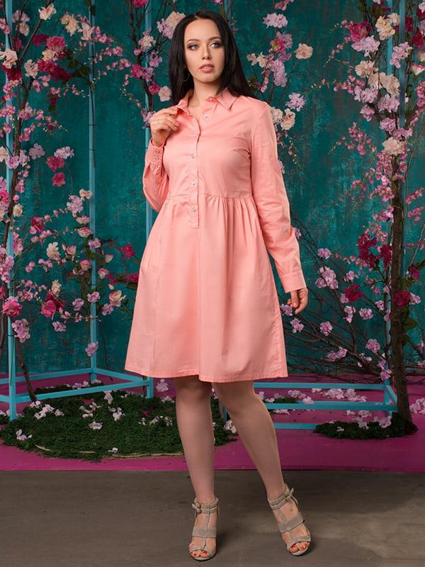 Платье цвета пудры | 5081946