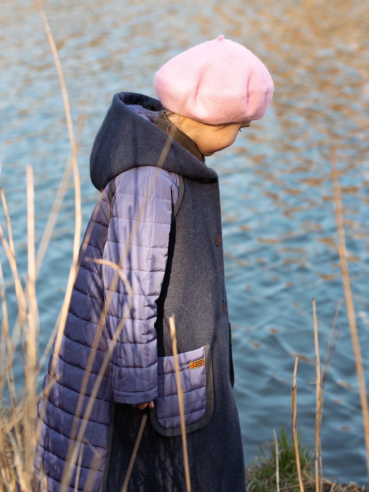 Пальто лавандового цвета | 5056684 | фото 6