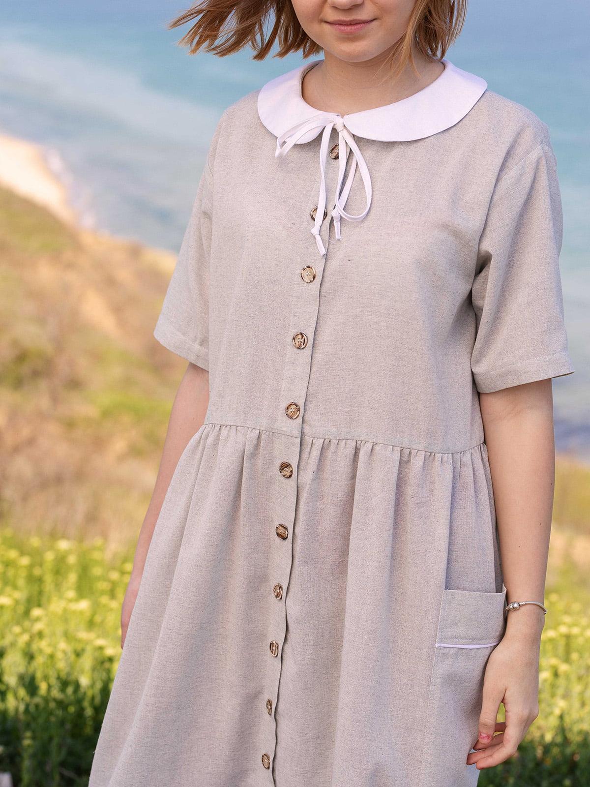 Сукня світло-сіра   5086769   фото 3