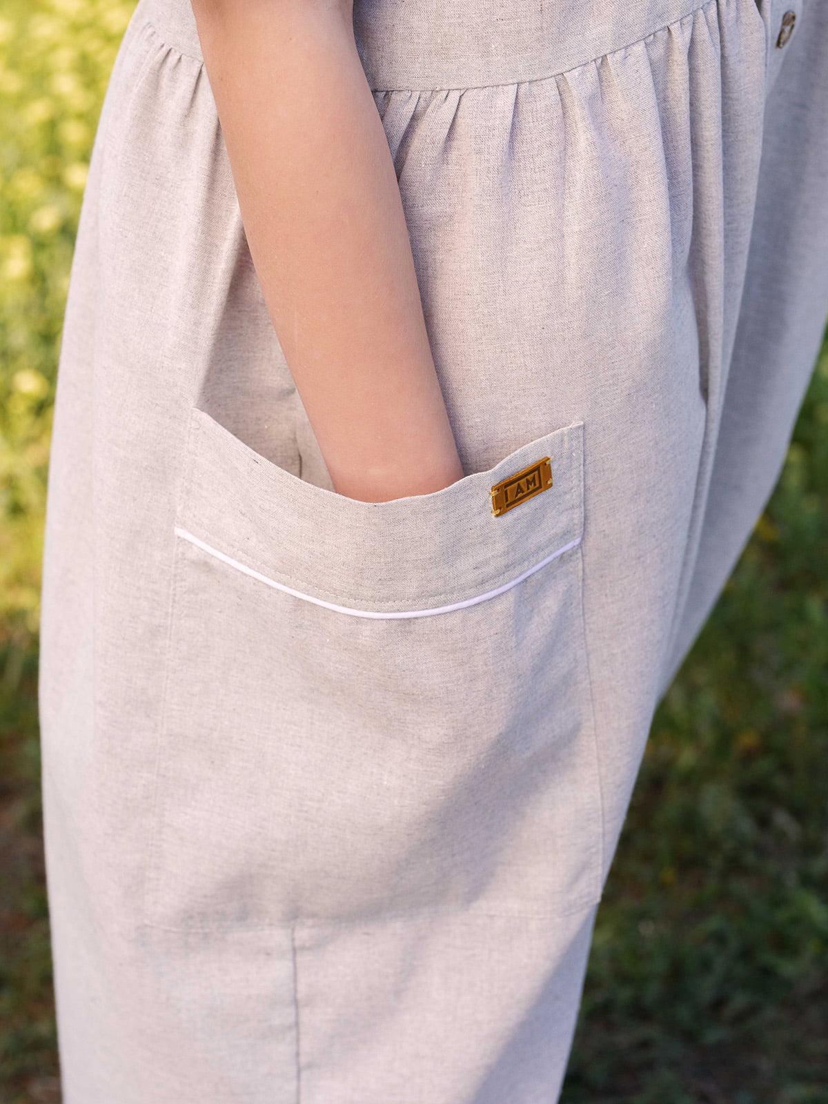 Сукня світло-сіра   5086769   фото 4