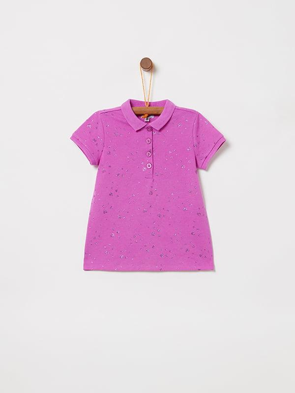 Футболка-поло розовая | 5064206