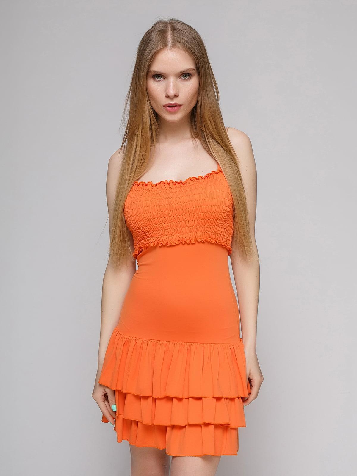 Сарафан помаранчевий | 5026055