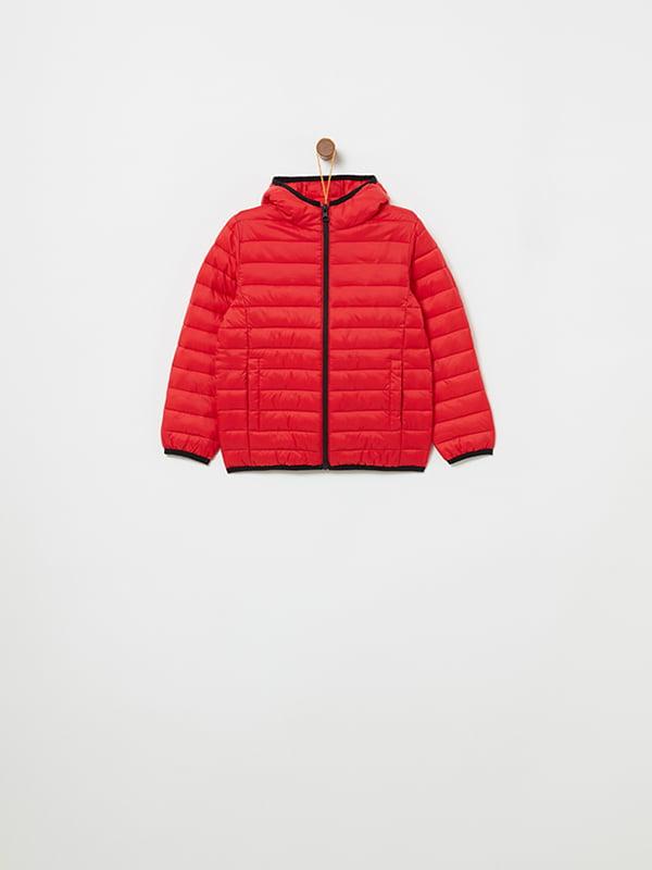 Куртка красная   4902857   фото 5