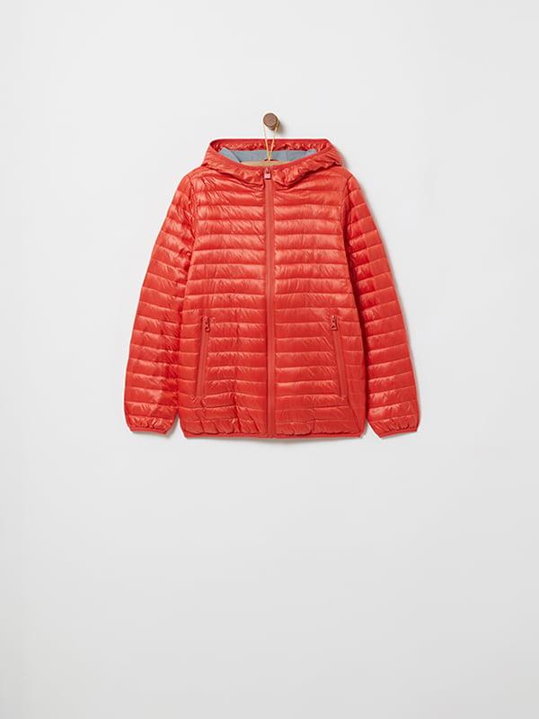 Куртка красная   4903045   фото 5
