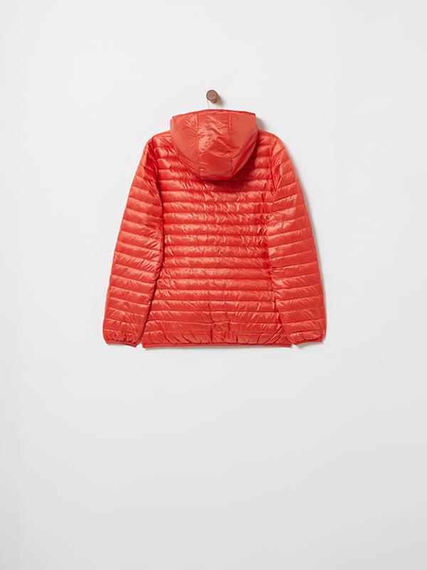 Куртка красная   4903045   фото 6