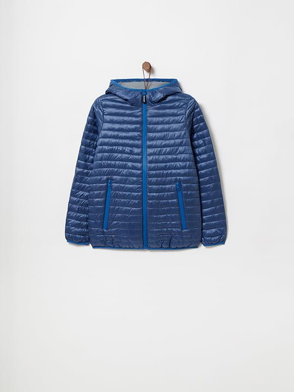 Куртка синяя | 4903046 | фото 5