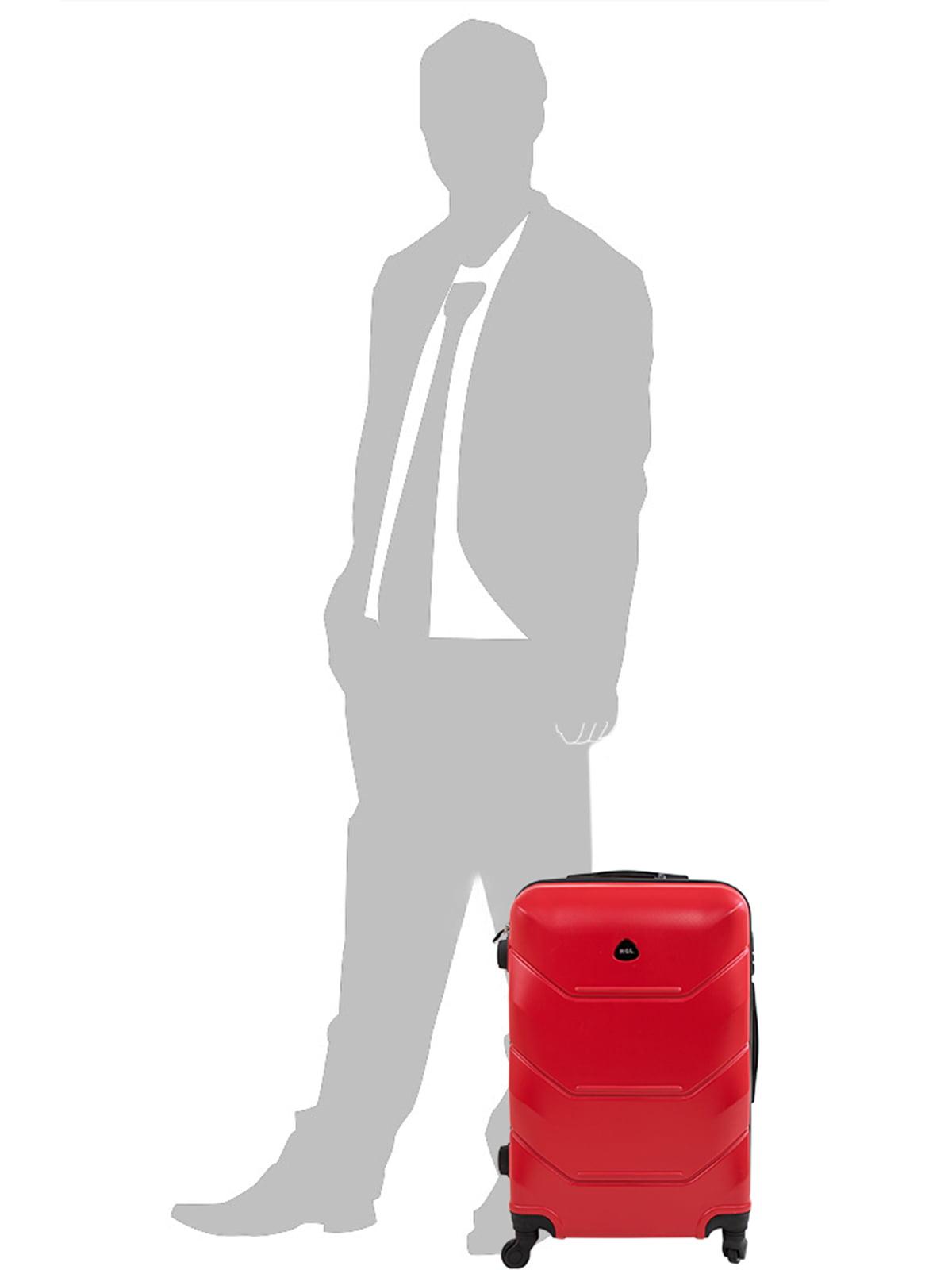 Чемодан красный | 5071331 | фото 6