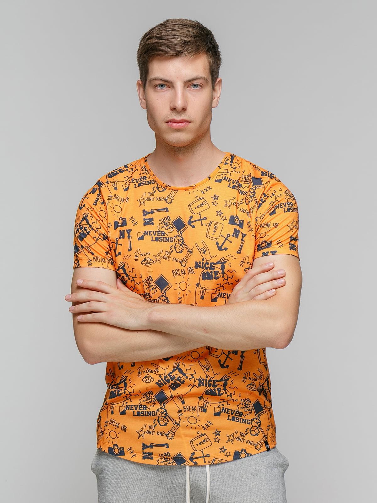 Футболка помаранчева   5077309