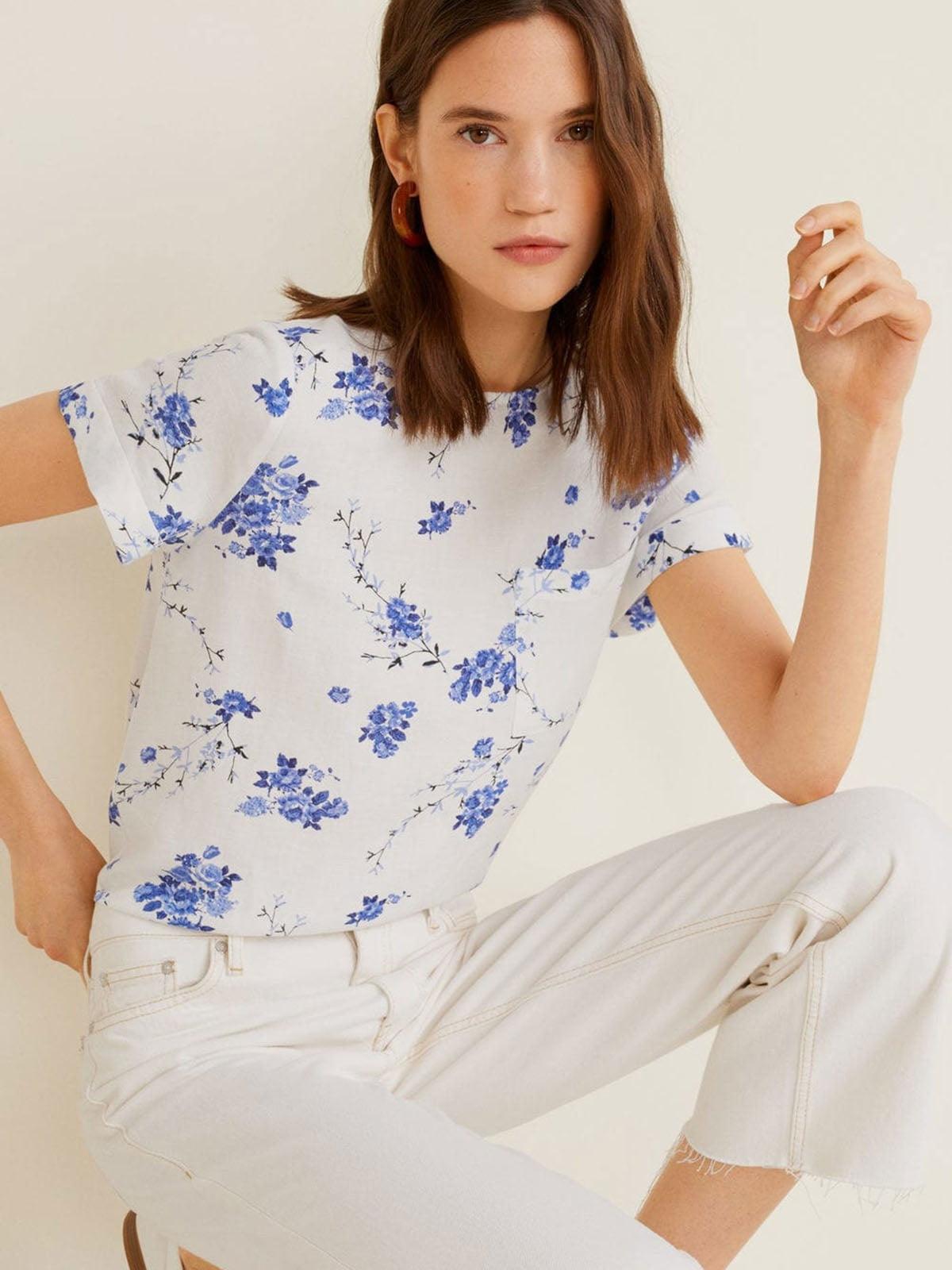 Блуза в квітковий принт | 5027500
