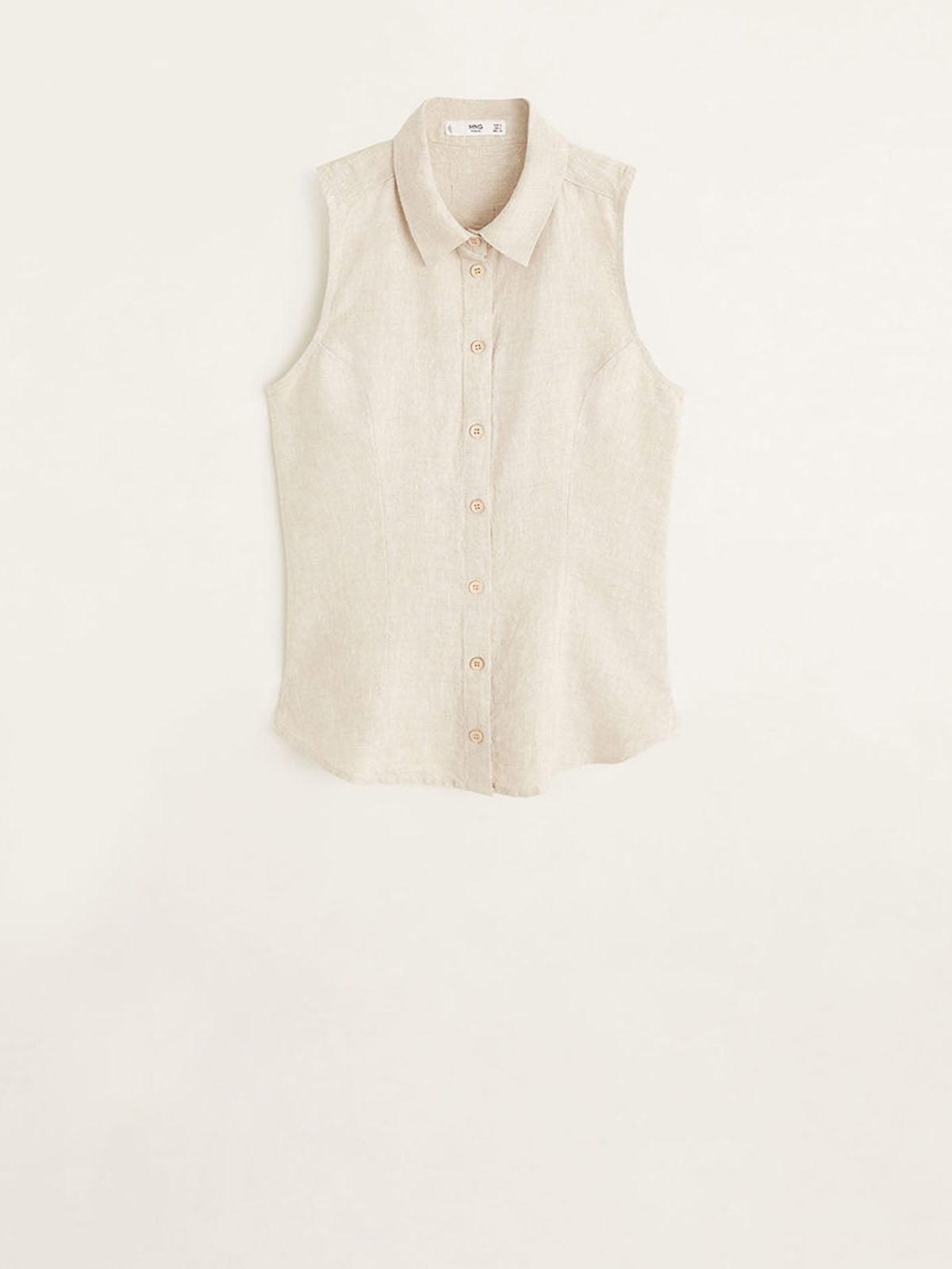 Блуза бежева | 5061594