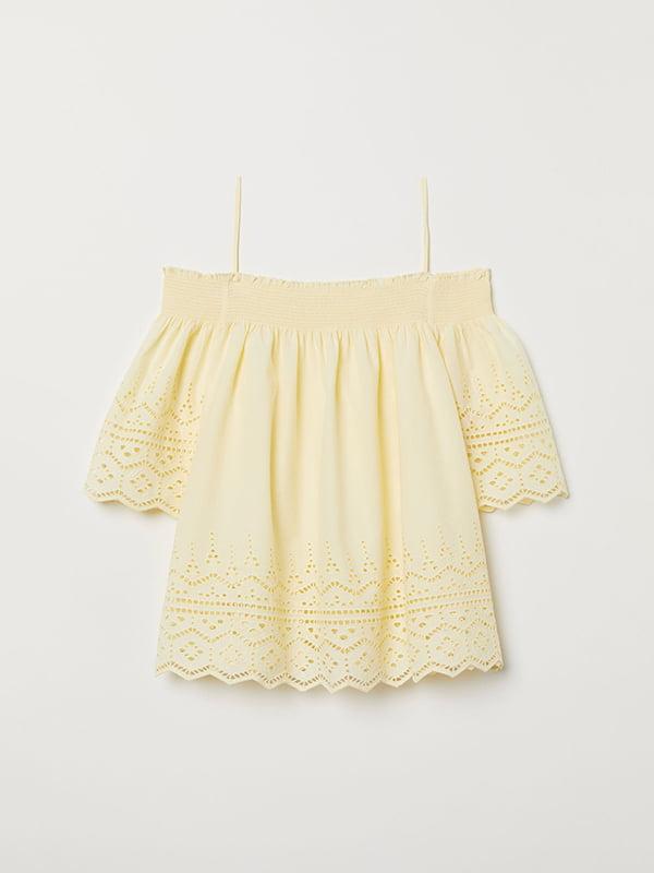Блуза жовта | 5046617 | фото 2