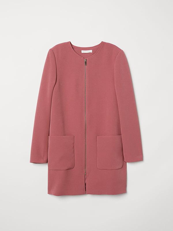 Пальто розовое | 5046927 | фото 3